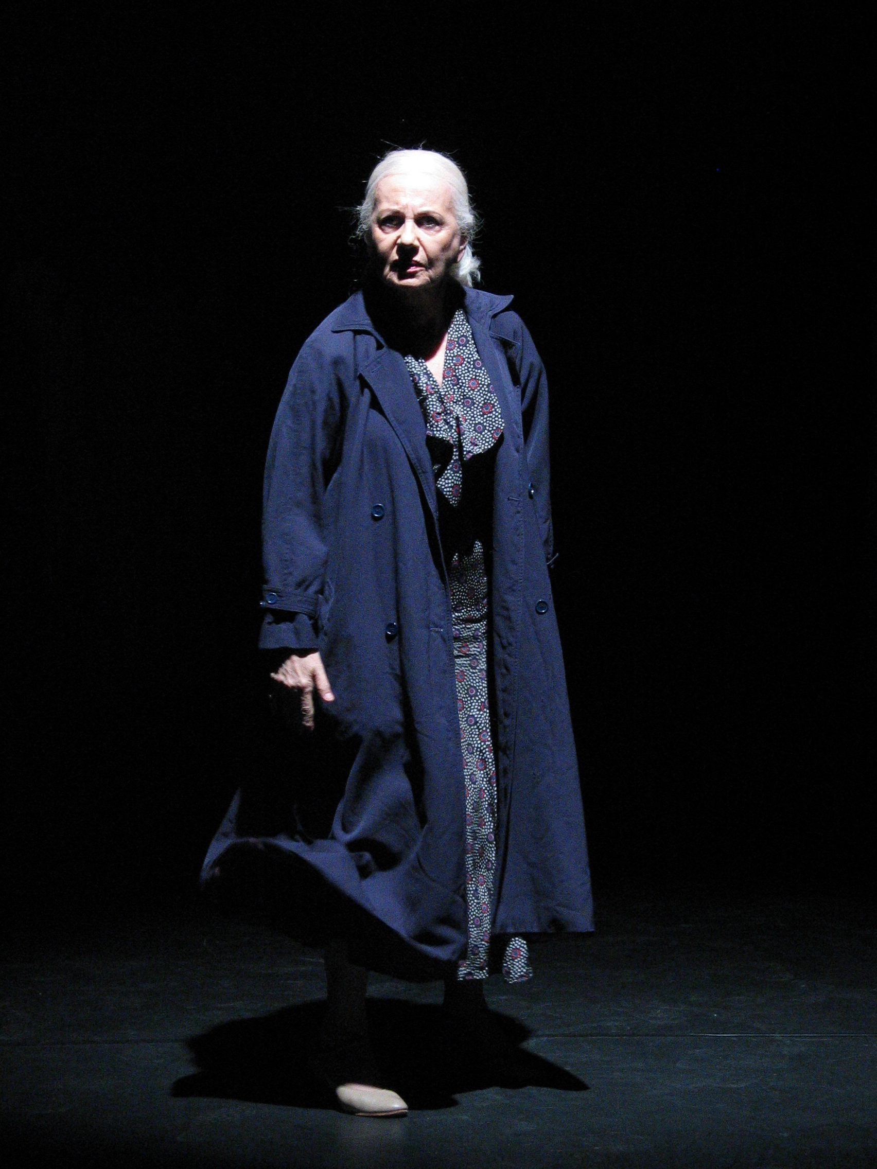 Ruth Posner as Theresa