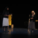 Sarah Finch and Ruth Posner in Theresa