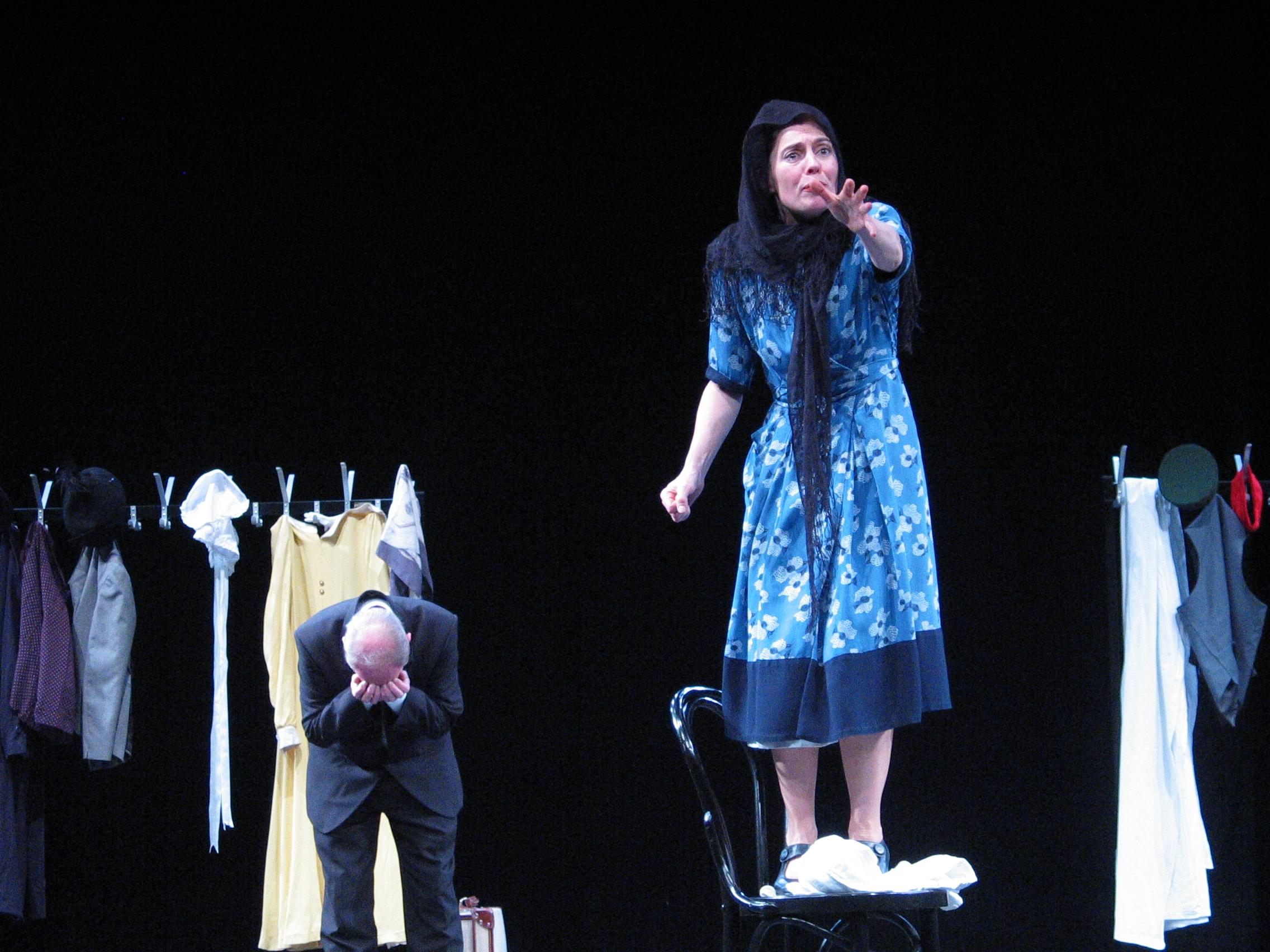 Sarah Finch in Theresa